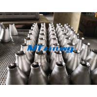 China ASTM A182 Stainless Steel Reducer Cold Forming Pipe Fitting For Connection wholesale