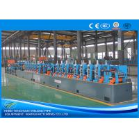 China Custom Size Pipe Making Machine , Stainless Steel Tube Mill For L Shape Pipe wholesale