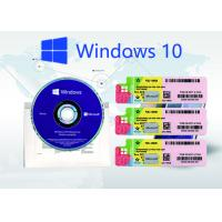 China Windows 10 Pro Genuine Product Key , License Retail Online Activation Key Code wholesale