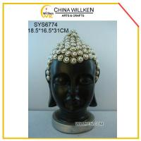 Buy cheap Resin Home Decorative Buddha Head from wholesalers