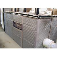 China Temporary Sound Wall Insulation and absorb Noise Minimum 25dB Customized Size 1200mm x 2400mm wholesale
