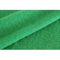 China Green Color Medium Weight Boiled Wool Fabric For Blazer Without Washed wholesale