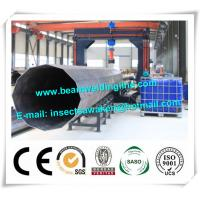 China Street pole assembling machine for wind tower production line , Heavy light pipe welding machine wholesale
