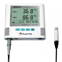 China LED Screen Temperature Humidity Data Logger , Smart Temperature Humidity Recorder wholesale