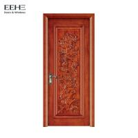 China Sound Proof Painted Solid Hardwood Internal Doors For Room 70*15mm Architraves on sale