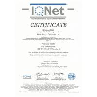Xinfa  Airport  Equipment  Ltd. Certifications