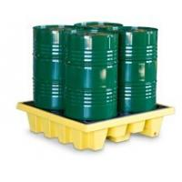 SYSBEL PE Spill Containments For Oil Tank, 4 Drum PE Spill Pallet And Spill Deck