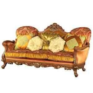 China Luxury Gold Accent Sofa /Fabric Sofa wholesale