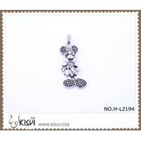 China 316 stainless steel pendant with Mickey mouse shape H-L2194 wholesale