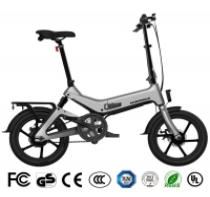 China 350W Motor 36V 7.5Ah 16 Inch Folding Electric Bike wholesale
