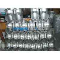 China Stainless Steel Flanges Pipe Fittings  300 Series Raw Material ISO 9001 / PED on sale