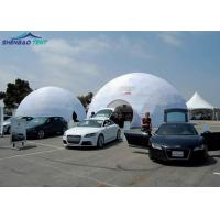 China Hot Galvanized Steel Geodesic Dome Tent , Half Sphere Tent For Outdoor Event wholesale