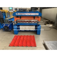 China CE Steel Tile Roll Forming Machine 380V wholesale