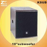 "Buy cheap KSUB 10"" Subwoofer from wholesalers"