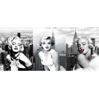 Buy cheap Star Marilyn Monroe 3D Lenticular Flip With 3 Imges Changing Effect / MDF Frame from wholesalers