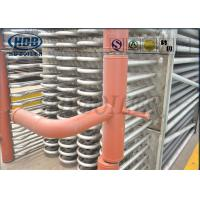 China Bare Tube Type Stainless Steel Boiler Economizer With Headers SCR System Recovery Flue Gas wholesale
