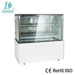 China Customized Square Cake Display Freezer R134a / R404 Refrigerant 220V 50HZ wholesale