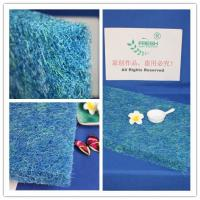 China Irregular Hole Shape Air Filter Material Koi Pond Filter Pads 30mm Thickness wholesale