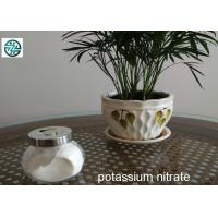 China Industrial Grade 99.9% Purity Potassium Nitrate Powder 100% Water Soluble on sale