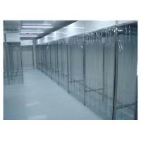 China Stainless Steel Class 100 Pharmacy Clean Room With PVC Plastic Curtain Wall wholesale