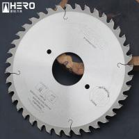 China Multiple Board Artificial Stone Fiber Cement Saw Blade With Anti Chipping Edge wholesale
