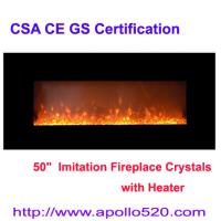 China Modern Home Heater Electric Fire Places 50-inch wholesale