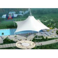 China Space Frame Park Shade Structures Sun Shelter Canopy For Park Area , Light And Spaciou Membrane Structure Without Wall on sale