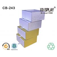 China Special Design Cardboard Gift Boxes , Custom Made Paper Drawer Box Eco Friendly wholesale