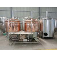 China 1000 liter beer brewing equipment, red copper brewhouse, beer fermenter wholesale