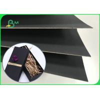 China Recyclable Pulp 250gsm  - 800gsm One Side Black Paper Board For Calendar wholesale