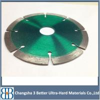 China Cold Pressed Sintered diamond saw blade for cutting marble,granite and concrete wholesale