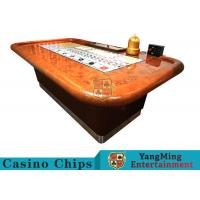 China Standard Casino Sic Bo Luxury Casino Craps Poker Table / Electronic Poker Table wholesale