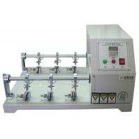 China Six Station Leather Preprocessing Flexing Testing Machine Crumpling Resistance Tester wholesale