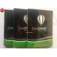 China COA License Sticker Corel Graphics Suite X8 Retail Box Full Version For PC wholesale