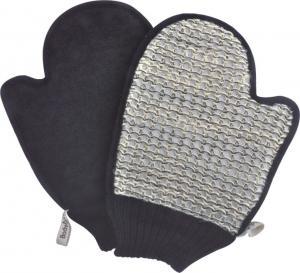 China Body Exfoliating Body Scrubbing Sisal Gloves , 100% Natural Sisal Bath Mitt wholesale