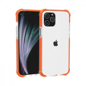 China Orange PMMA 5.4 Inch Cell Phone Protective Covers wholesale