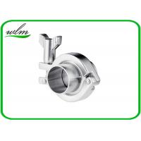 China Stainless Steel Sanitary Tri Clamp Fittings Short Type For Food Industries wholesale