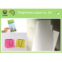 China 100% Virgin Wood Pulp C2s Art Paper / Chrome Art Paper For Brochure Book wholesale