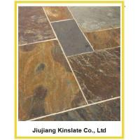China Natural California Gold Slate Exterior Floor Tile on sale