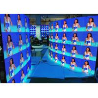 China Curved Portable P3.91 Die Cast Aluminum Rental LED Display Indoor Full Color 500x500 LED Panels CE / RoHS Flight Case wholesale