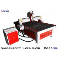 China Red Color CNC Router Wood Carving Machine , Industrial CNC Router Table wholesale