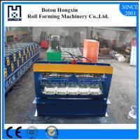 China High Speed Metal Sheet Forming Machine , Durable Corrugated Roof Sheeting Machine wholesale