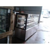 Quality Economical Cake Display Freezer Cabinets Freezer With Curved Glass for sale