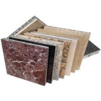 China honeycomb stone panels for curtain wall envelope,stone honeycomb panels for exterior wall cladding, wholesale