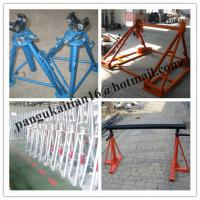 China Mechanical Drum Jacks,Cable Drum Trestles,Made Of Cast Iron wholesale