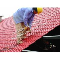 China plastic PVC+ASA easy installation steel structure roofing tile wholesale