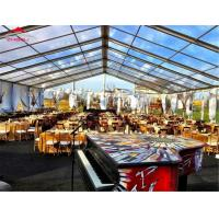 Buy cheap Luxury Movable Wedding Party Tent Span Width Between 3m And 60m Anti - Mildew from wholesalers