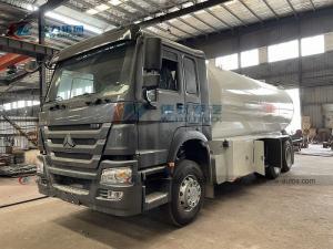 China Sinotruk HOWO 6X4 24cbm 12mt Gas Cylinder Car Filling Trucks LPG Bobtail Truck for Sale wholesale