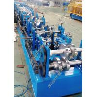 China Custom Steel Frame Purlin Roll Forming Machine 18.5KW Driving Motor wholesale