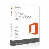 Buy cheap Genuine Microsoft Office Professional Plus 2016 Key For Retail Vesion from wholesalers